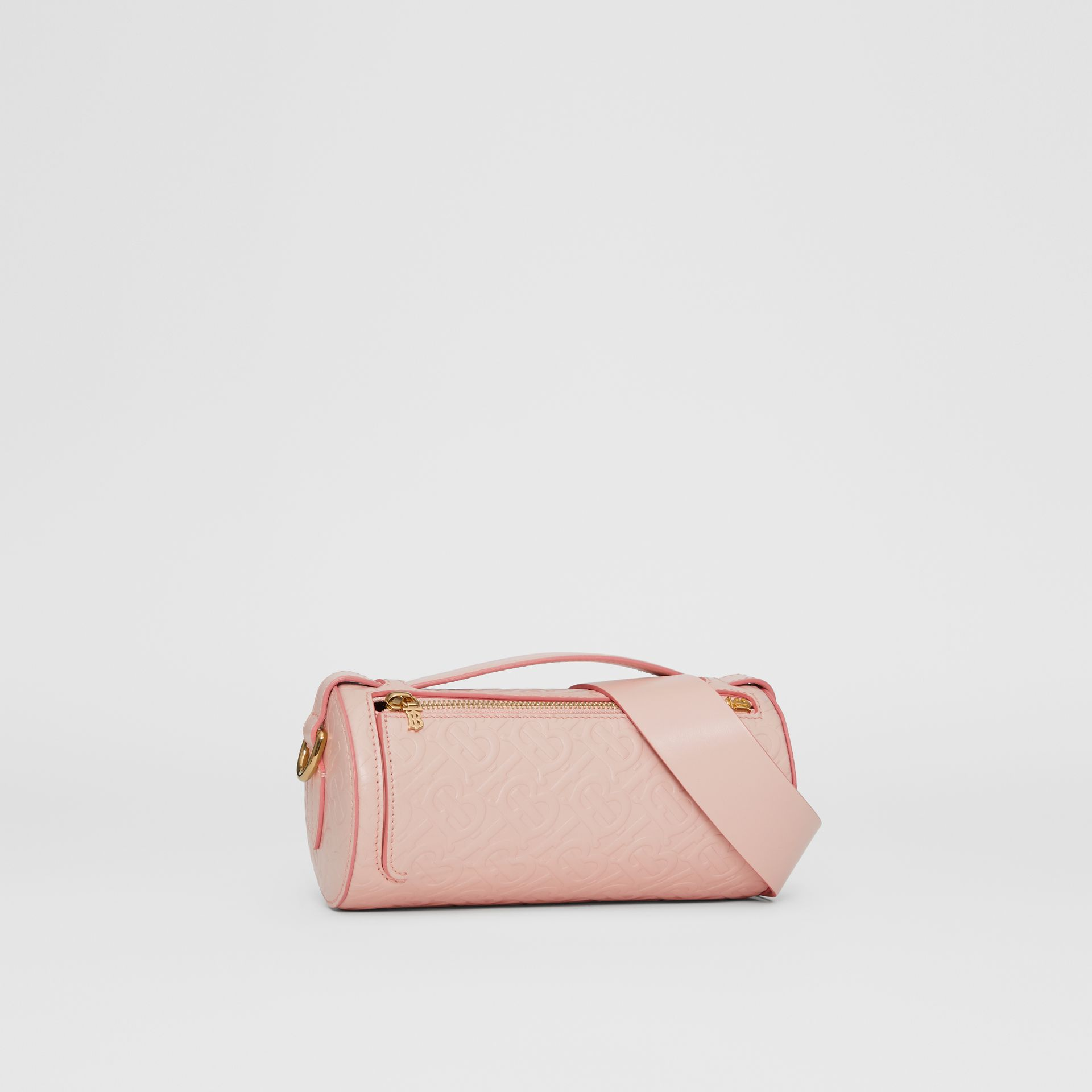 Sac The Barrel en cuir Monogram (Beige Rose) - Femme | Burberry - photo de la galerie 6