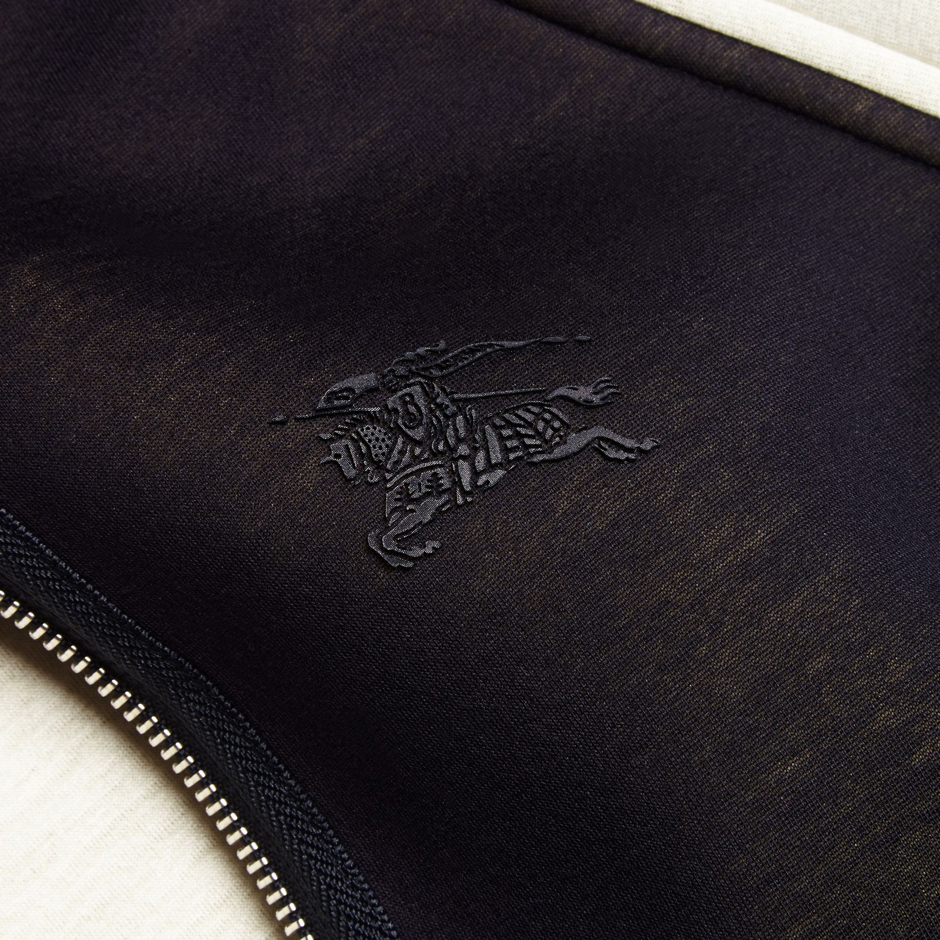 Panelled Jersey Bomber Jacket - Men | Burberry Singapore - gallery image 2
