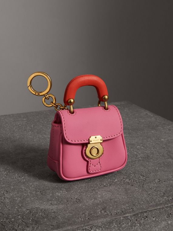 The DK88 Charm in Rose Pink/orange Red