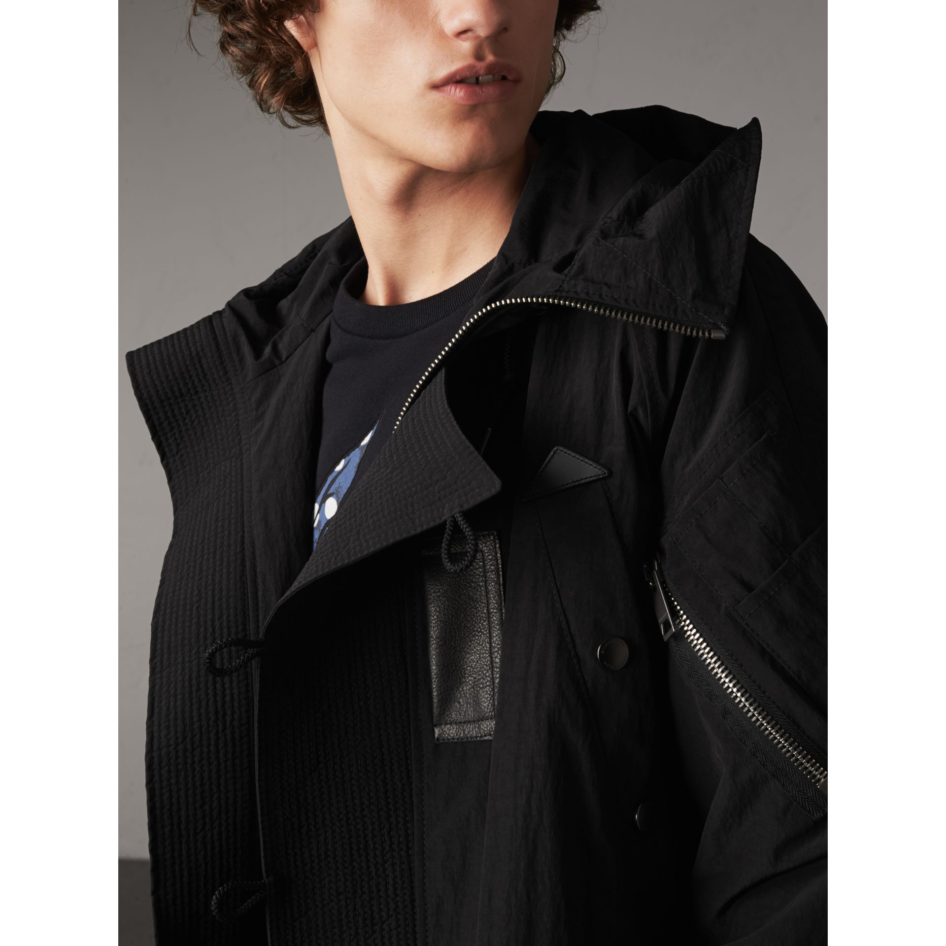 Rainproof Flyweight Parka - Men | Burberry Singapore - gallery image 2
