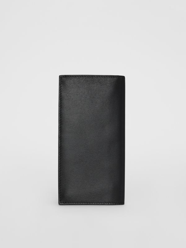 London Leather Continental Wallet in Black - Men | Burberry United States - cell image 2