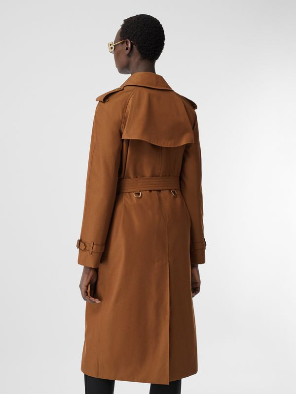 The Waterloo Heritage Trench Coat in Chestnut Brown - Women | Burberry - cell image 2