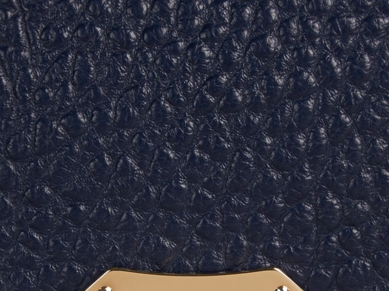Blue carbon Medium Signature Grain Leather Clutch Bag Blue Carbon - cell image 1