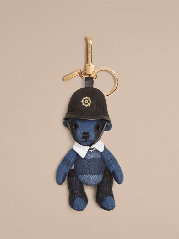 The Bobby Thomas Bear Charm in Cadet Blue