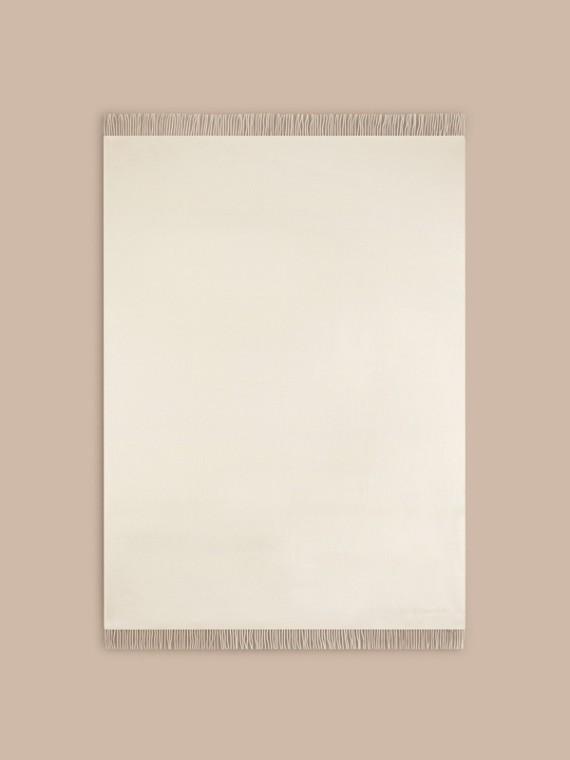 Blanc naturel Couverture en cachemire Blanc Naturel - cell image 2