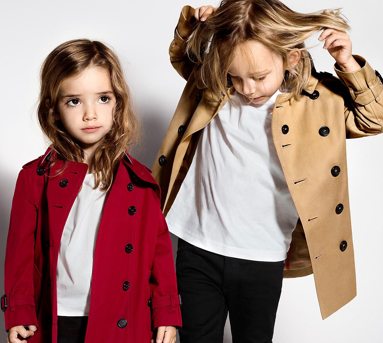 Children's Trench Coats