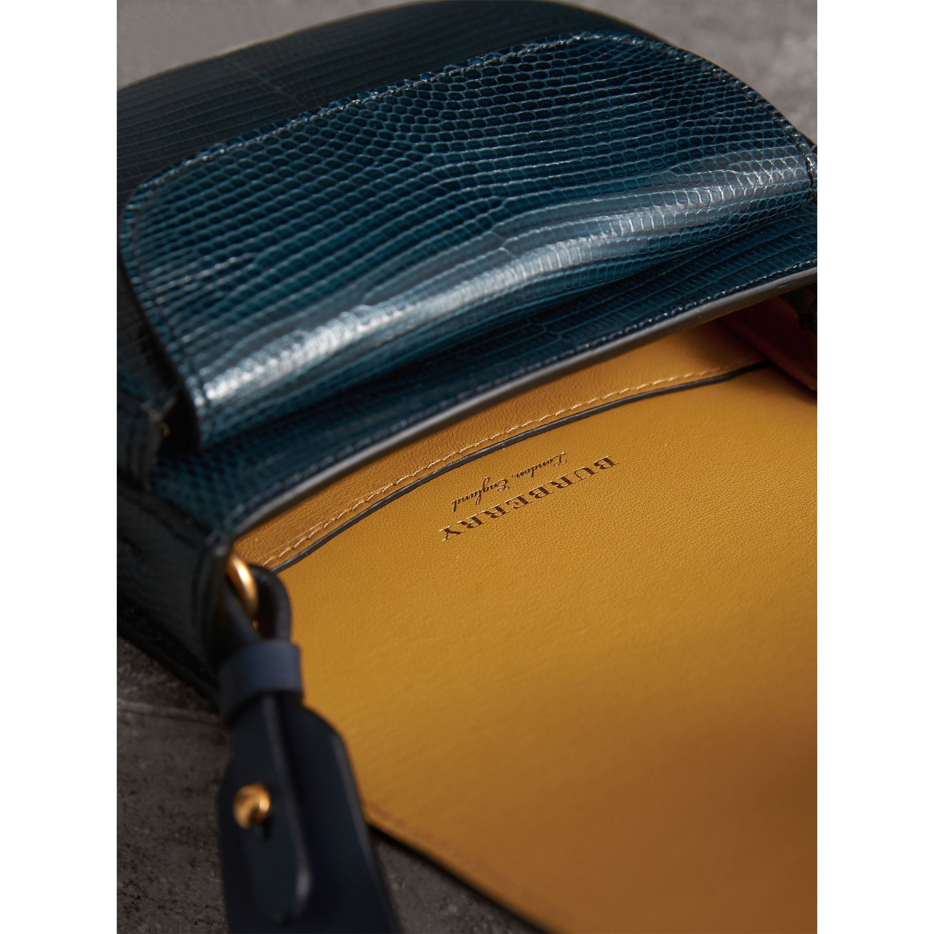 The Satchel aus Waranleder (Marineblau) - Damen | Burberry - Galerie-Bild 5