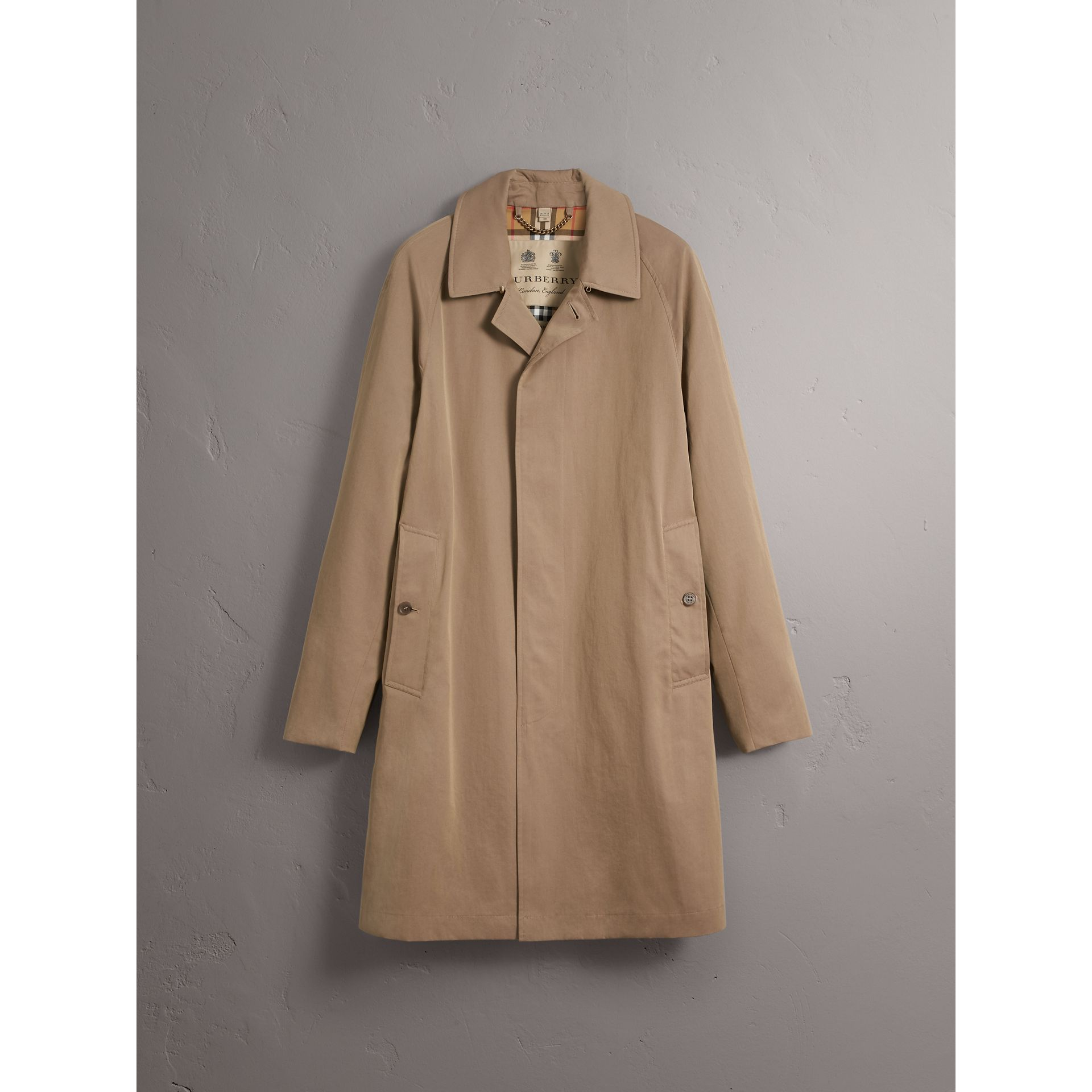 Car Coat The Camden (Brun Taupe) - Homme | Burberry Canada - photo de la galerie 3