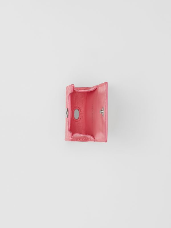 Grainy Leather AirPods Case in Candy Floss - Women   Burberry Canada - cell image 3