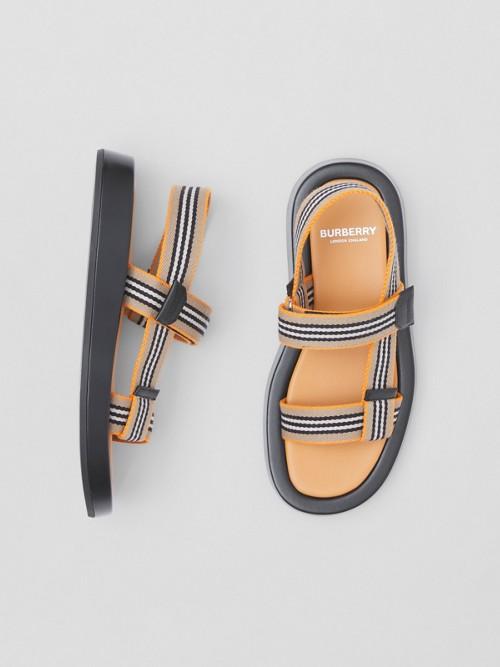Burberry Sandals Icon Stripe Sandals