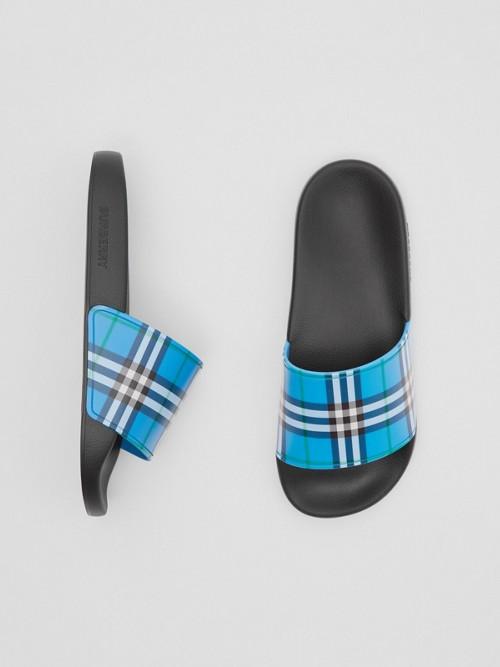 Burberry Slides Check Pr