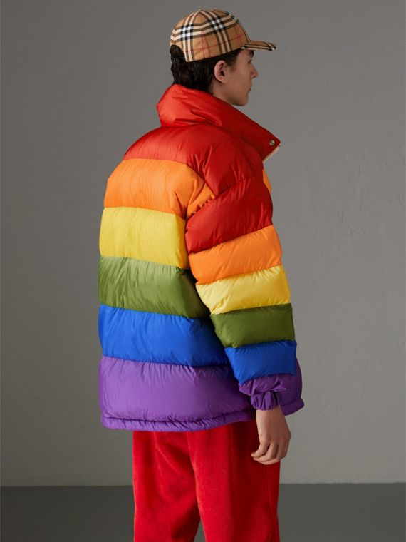 Rainbow Down-filled Puffer Jacket | Burberry - cell image 2