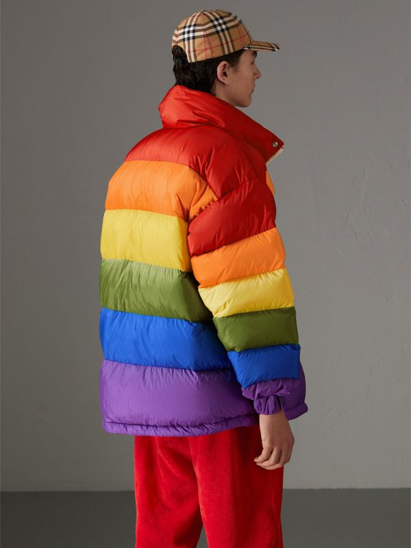 Rainbow Down-filled Puffer Jacket | Burberry United States - cell image 2