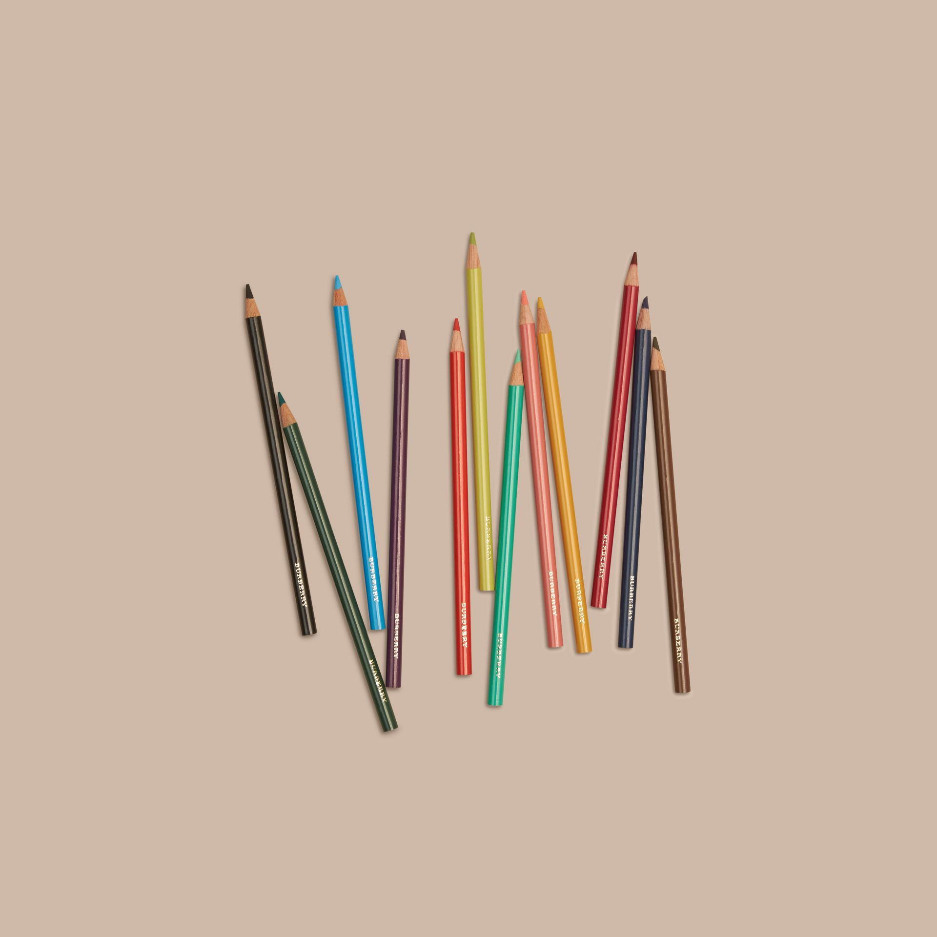 Multicolour Set of Coloured Pencils - gallery image 3
