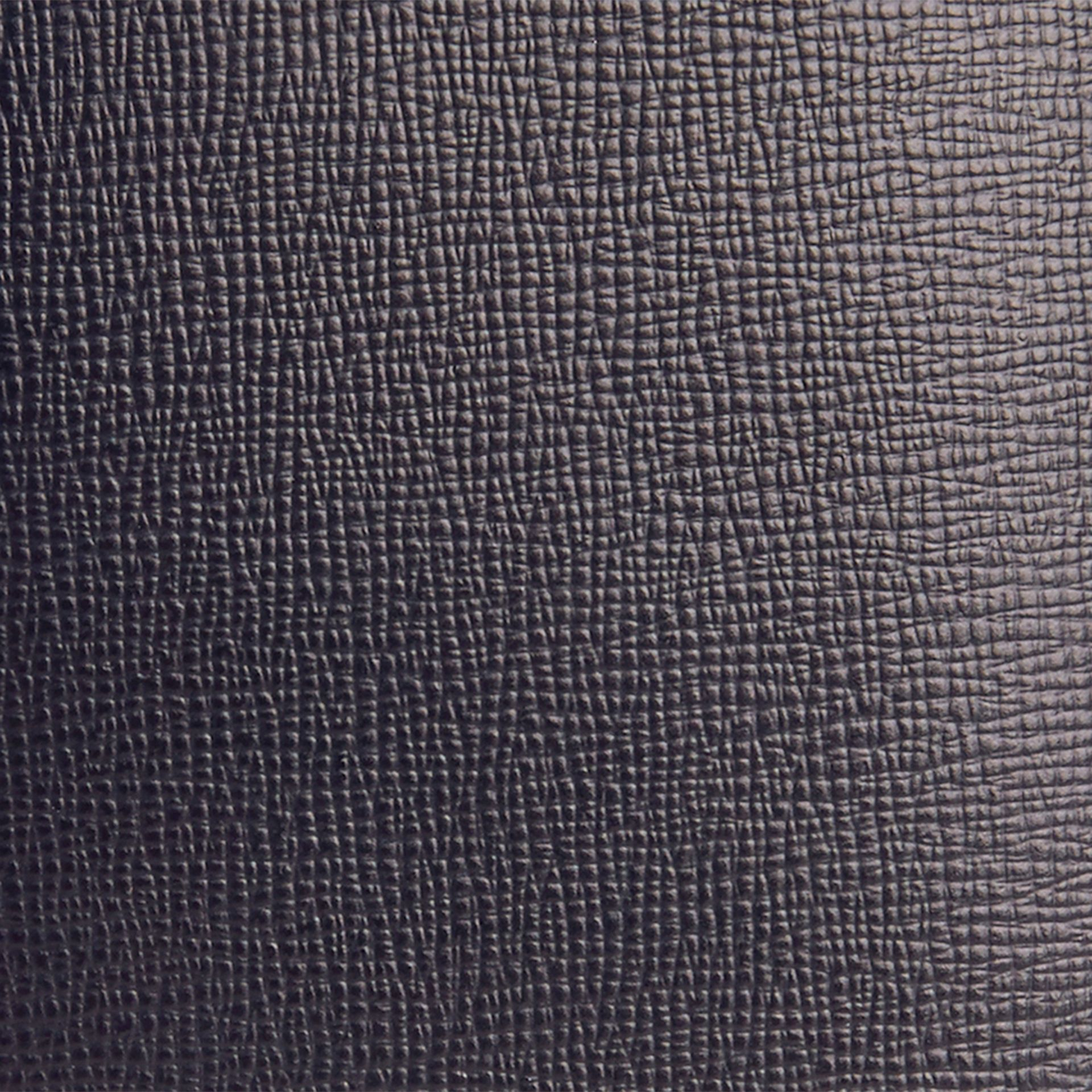 London Leather Passport Cover in Dark Navy - gallery image 2