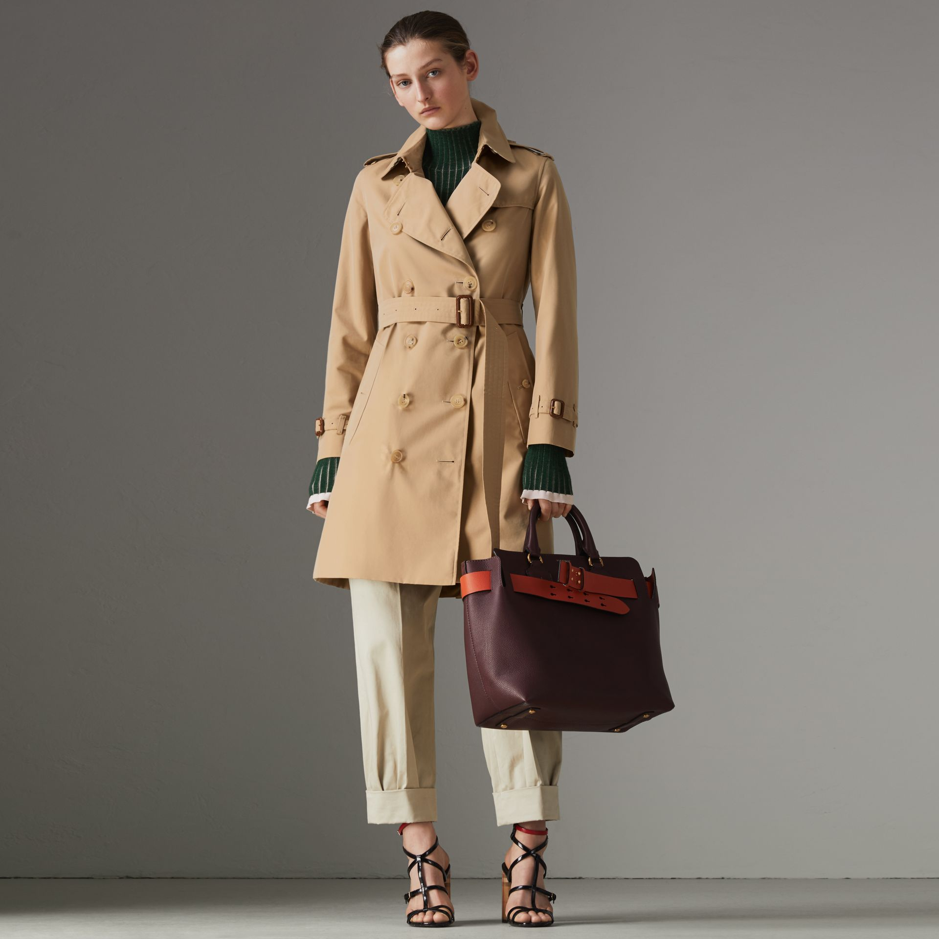 The Kensington – Trench Heritage (Miel) - Femme | Burberry - photo de la galerie 0