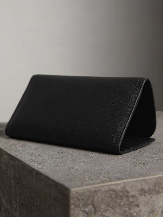 Leather Continental Wallet with Removable Coin Case in Black - Women | Burberry Singapore - cell image 3