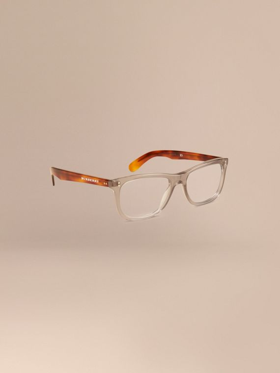 Square Optical Frames Smokey Grey
