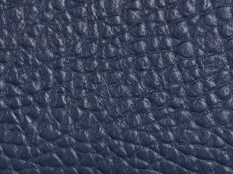 Blue carbon Signature Grain Leather Ziparound Wallet Blue Carbon - cell image 1