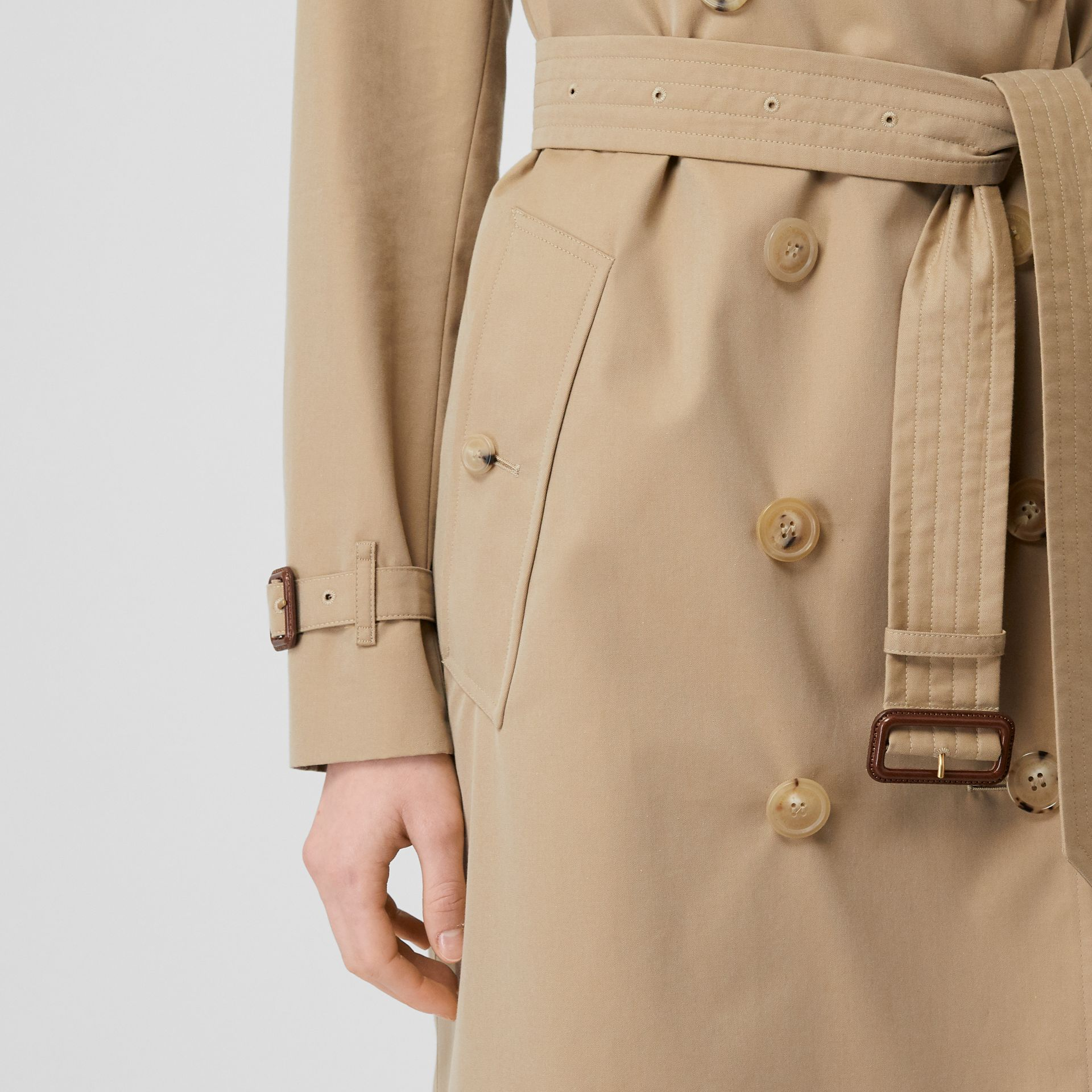 The Kensington – Trench Heritage long (Miel) - Femme | Burberry - photo de la galerie 5