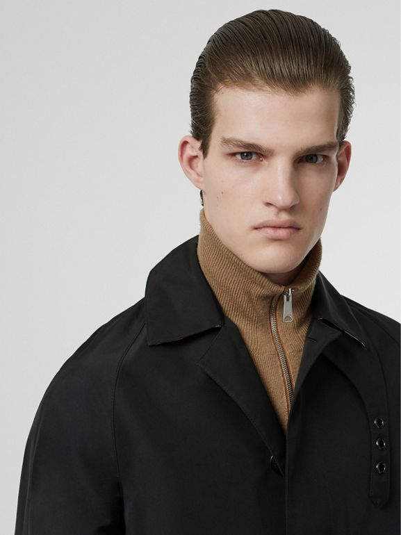 Bonded Car Coat with Warmer in Black - Men | Burberry - cell image 1