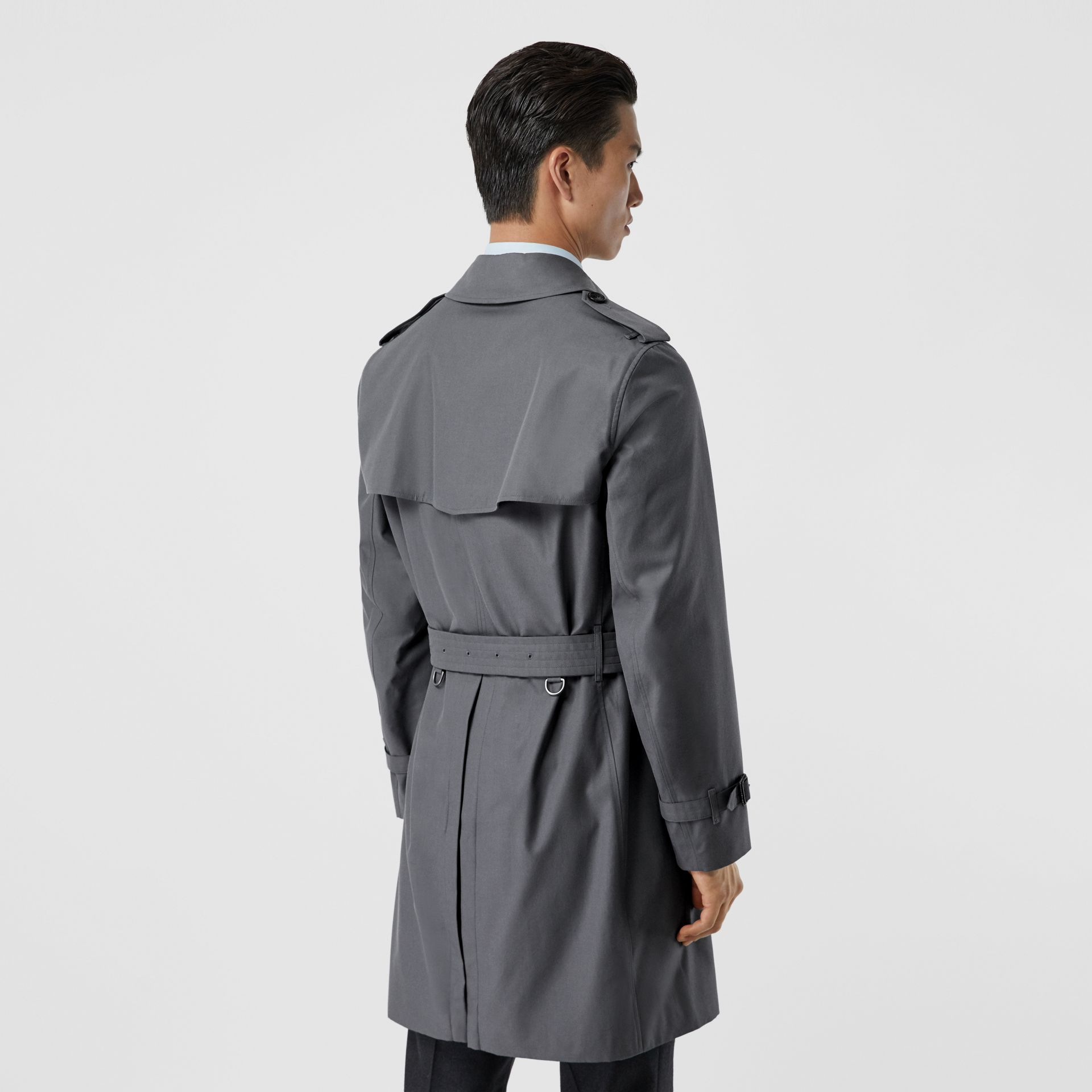 The Chelsea Heritage Trench Coat in Mid Grey - Men | Burberry United States - gallery image 2