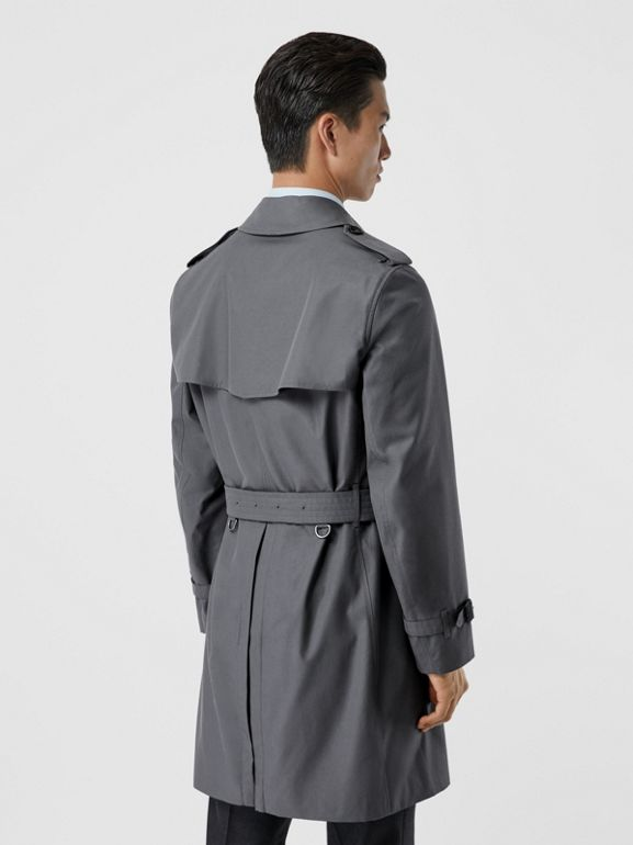 The Chelsea Heritage Trench Coat in Mid Grey - Men | Burberry - cell image 1
