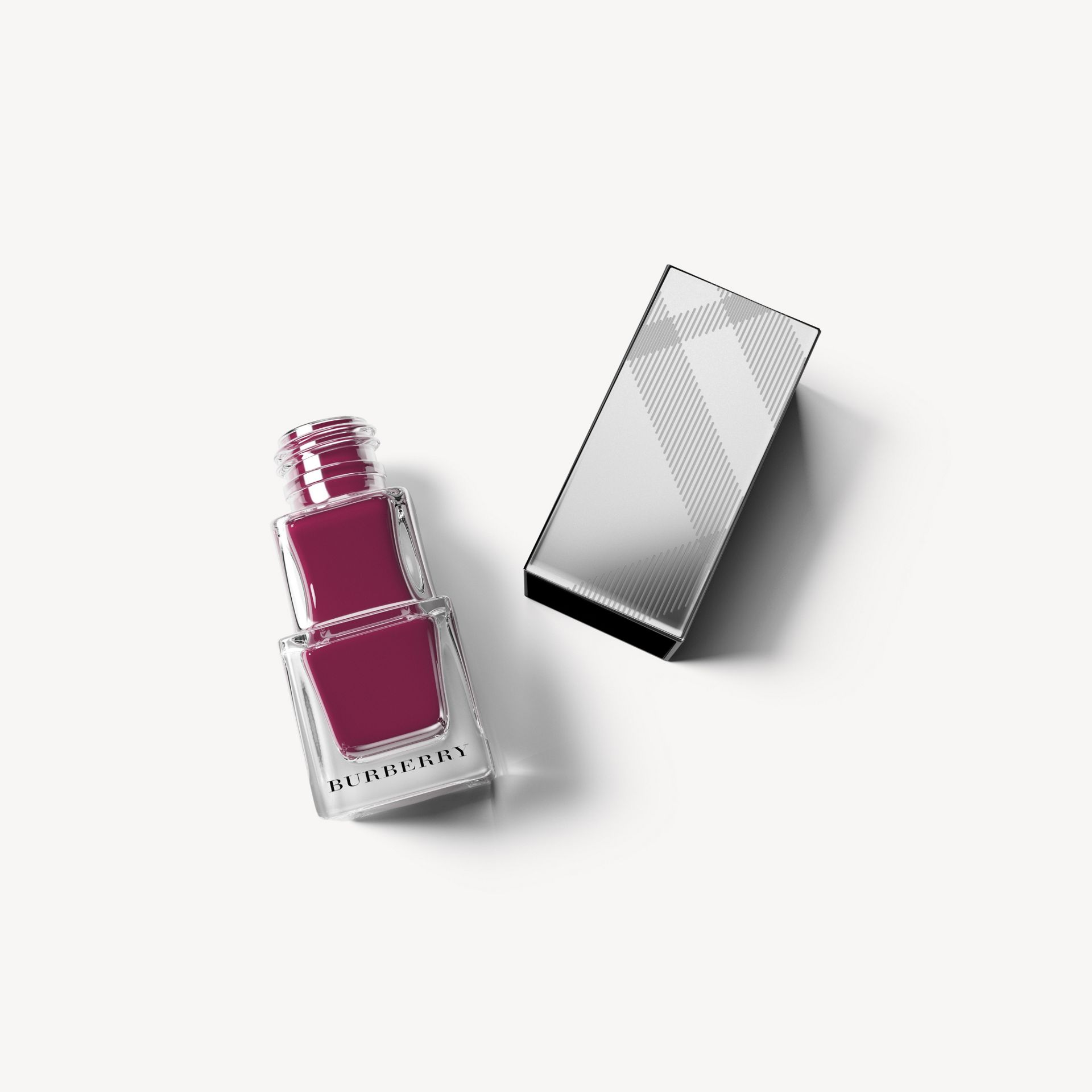 Nail Polish – Purple Garnet No.406 - Damen | Burberry - Galerie-Bild 1