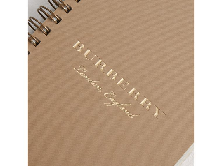 A6 Notebook Refill in Honey | Burberry Singapore - cell image 1