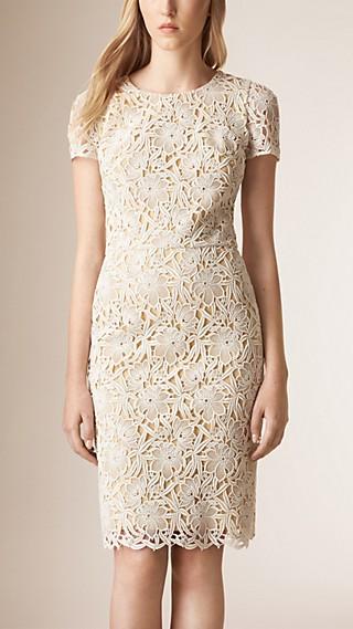 Floral Macramé Lace Dress