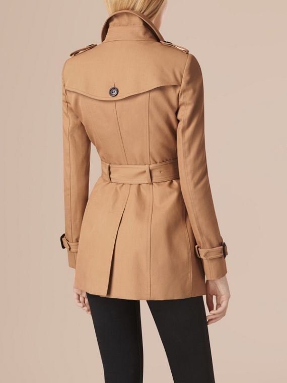 Cotton Gabardine Trench Coat - cell image 3