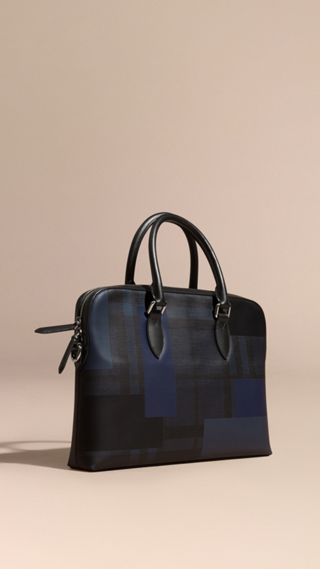 Sac The Barrow à motif London check et imprimé patchwork