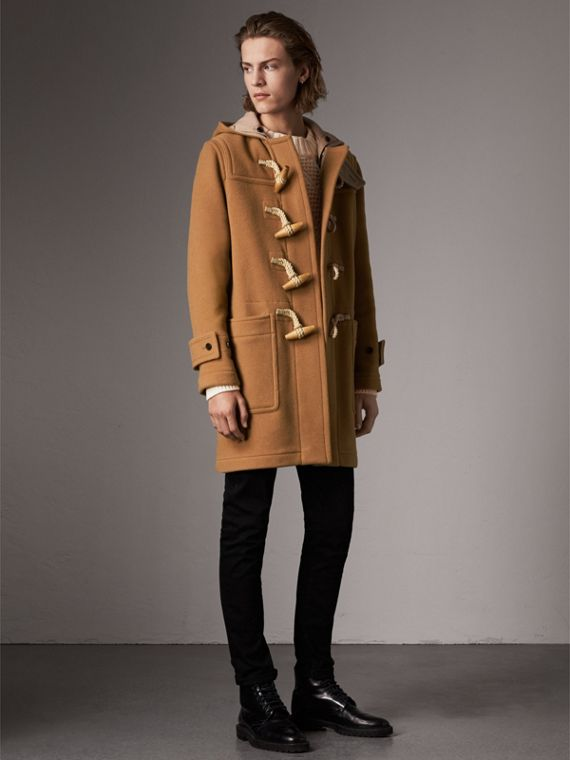 The Greenwich Duffle Coat in Mid Camel