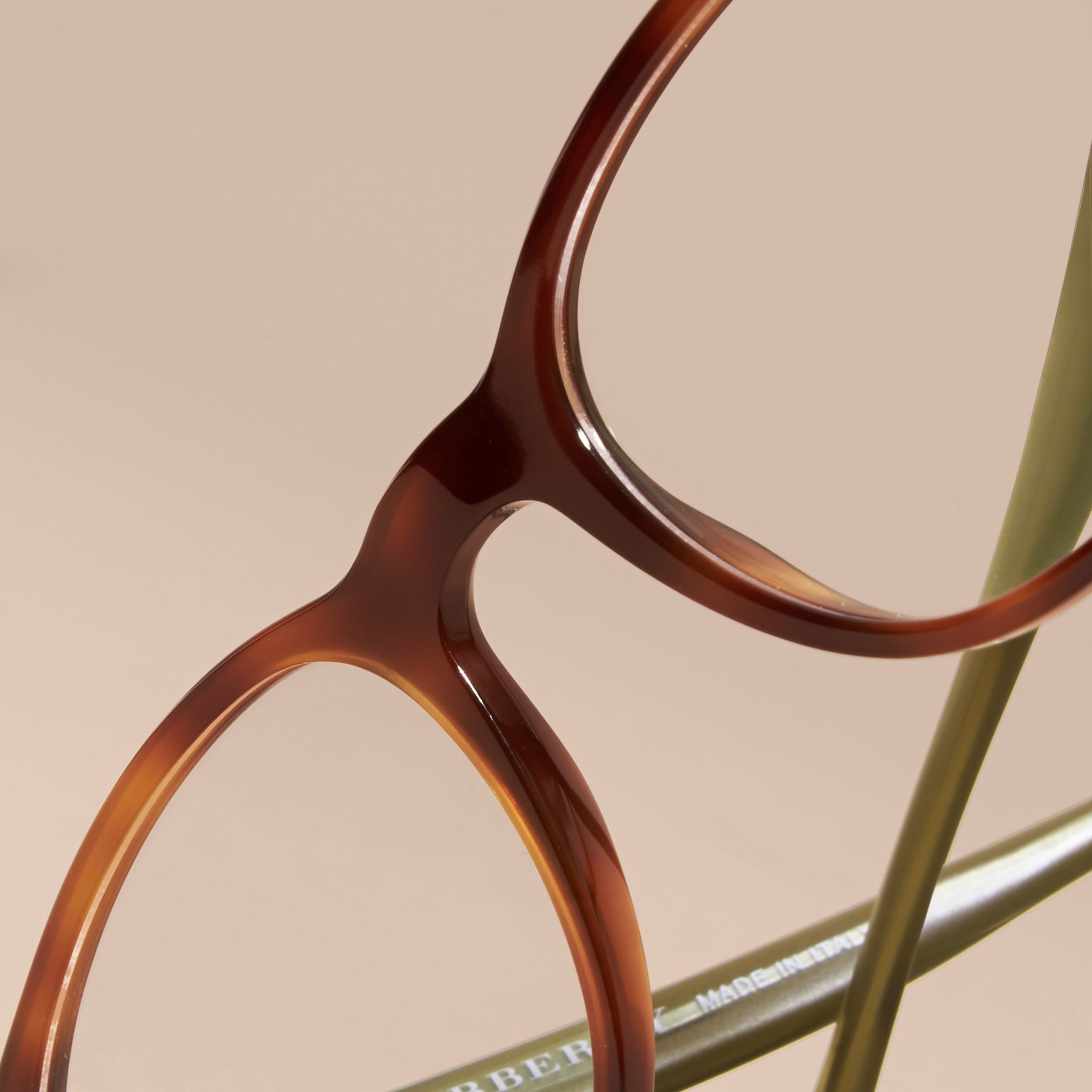 Tortoise shell Square Optical Frames Tortoise Shell - gallery image 2