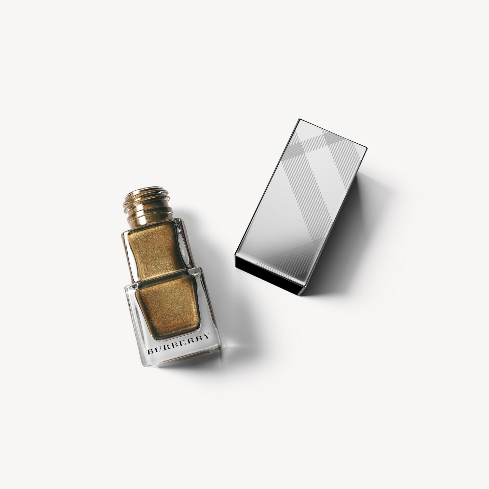 Nail Polish - Metallic Khaki No.202 - Women | Burberry - gallery image 1