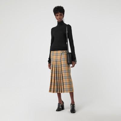 Vintage Check Wool Kilt