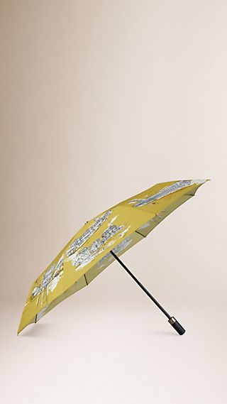 San Francisco Landmarks Folding Umbrella
