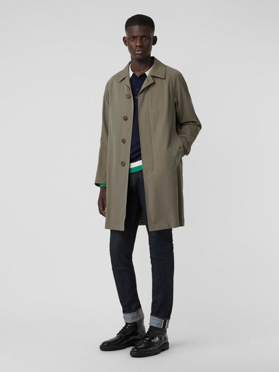 The Camden - Car Coat (Verde Giz)