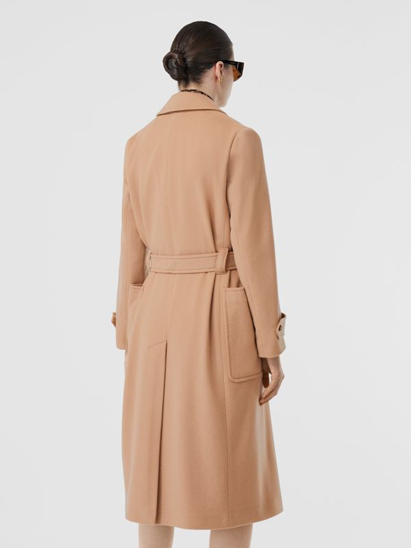 Cashmere Wrap Coat in Modern Beige - Women | Burberry - cell image 2