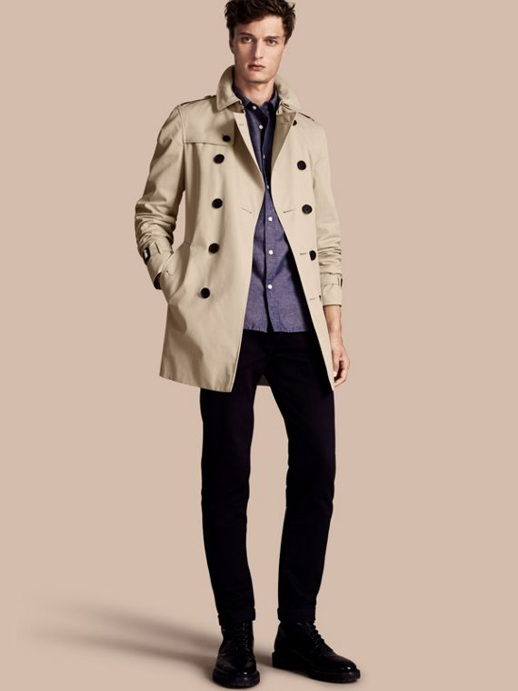 Trench-coat Heritage mi-long The Chelsea Stone