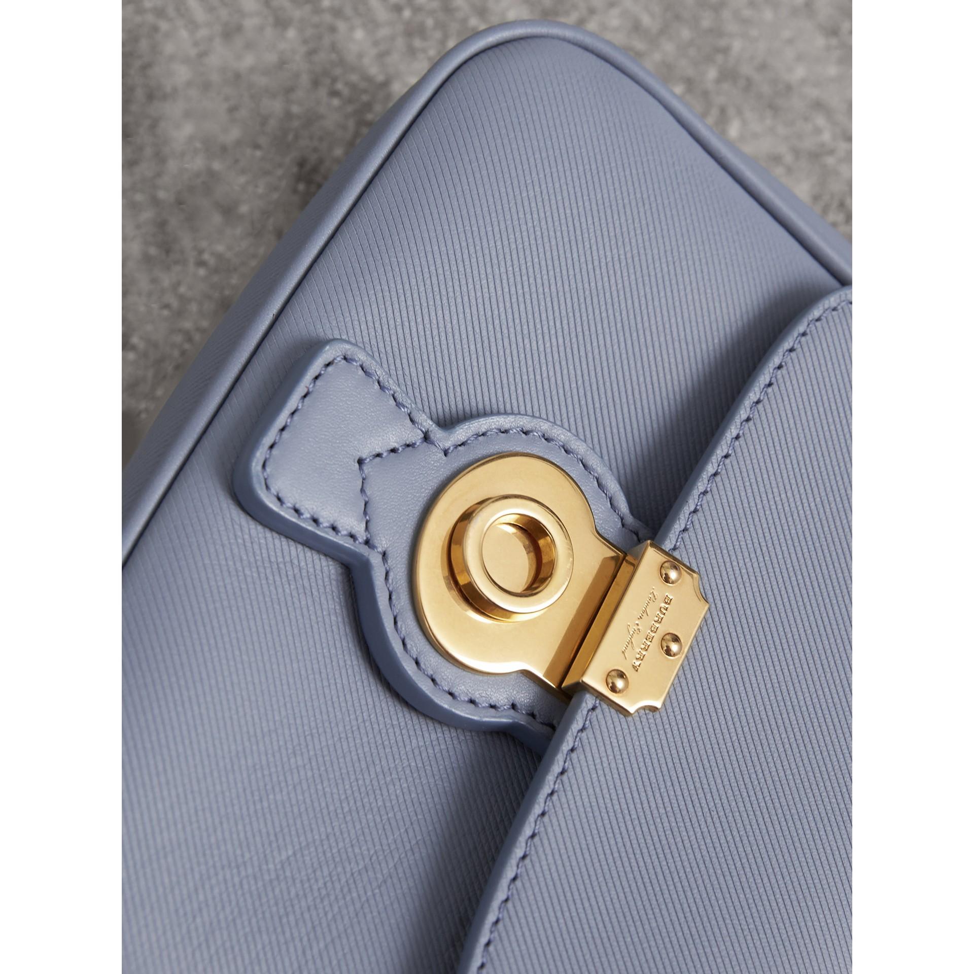 The Mini DK88 Top Handle Bag in Slate Blue - Women | Burberry - gallery image 2