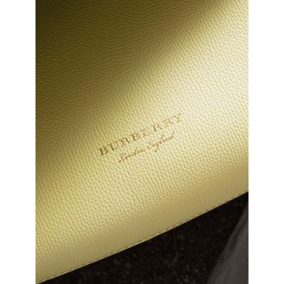 Burberry - Petit sac The Banner en cuir et coton House check - 2