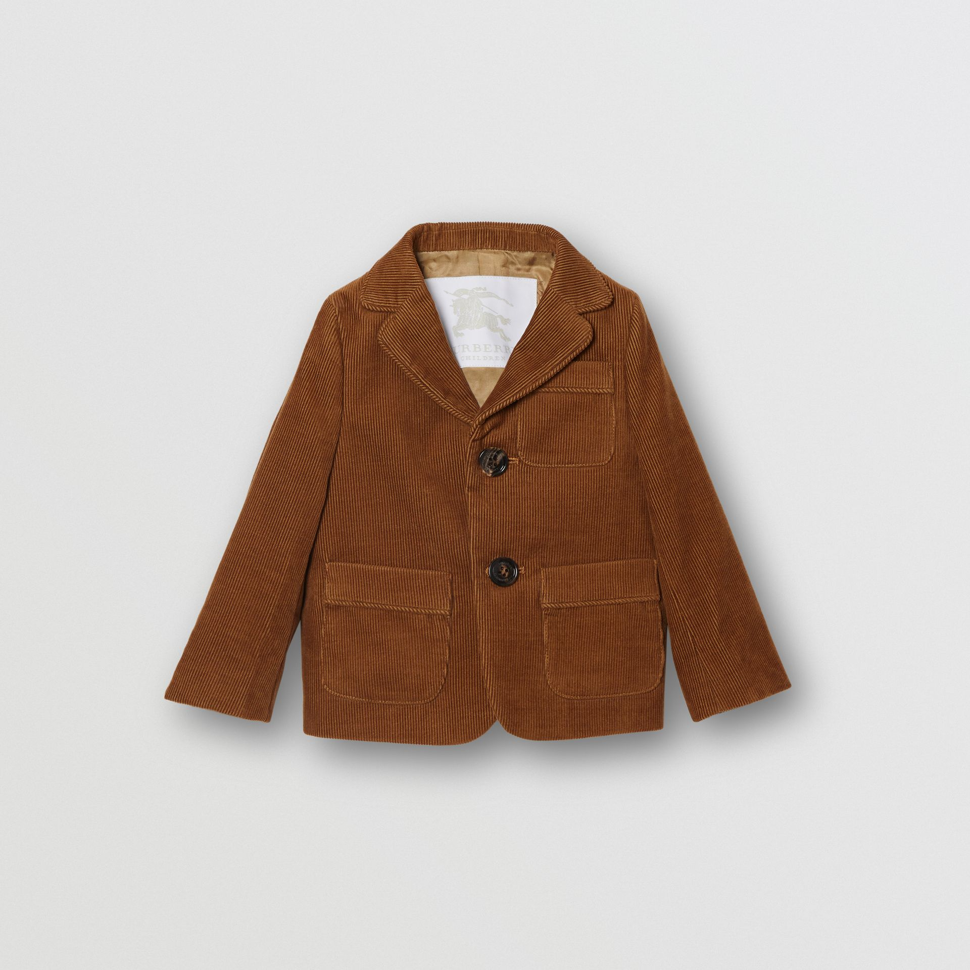 Corduroy Blazer in Camel | Burberry - gallery image 0
