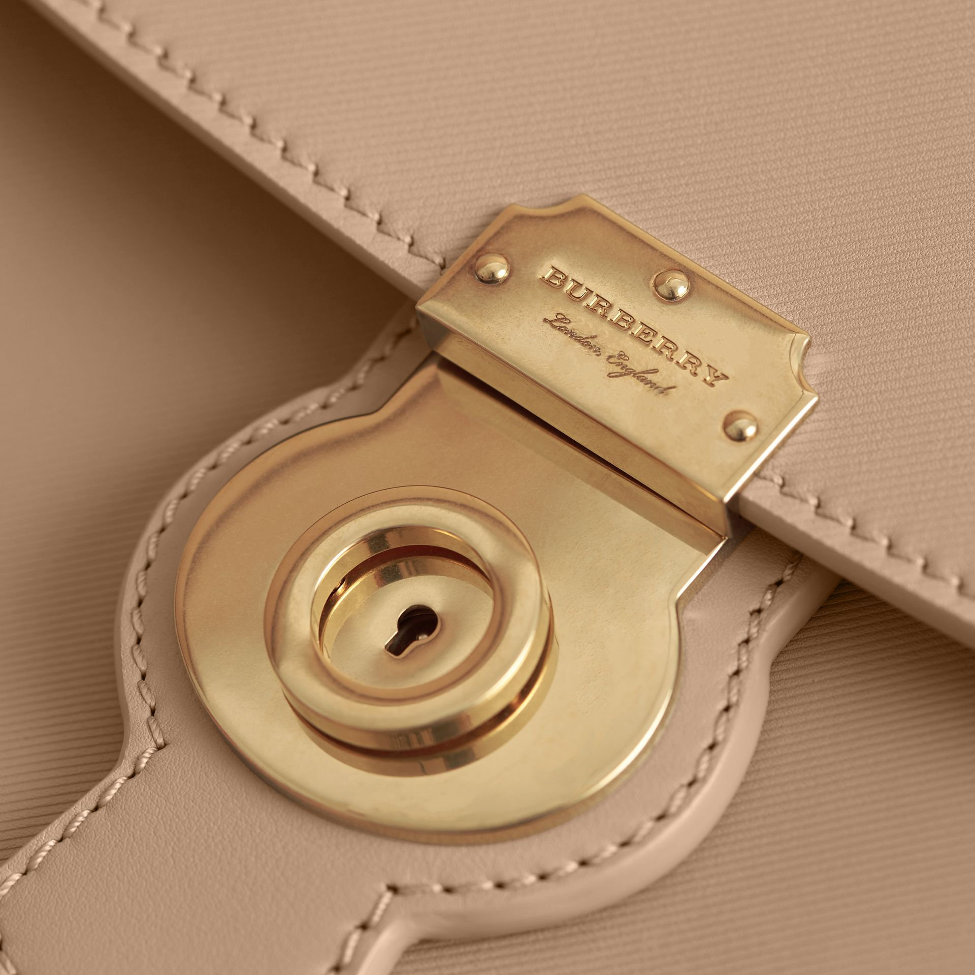The Medium DK88 Top Handle Bag in Honey - gallery image 5