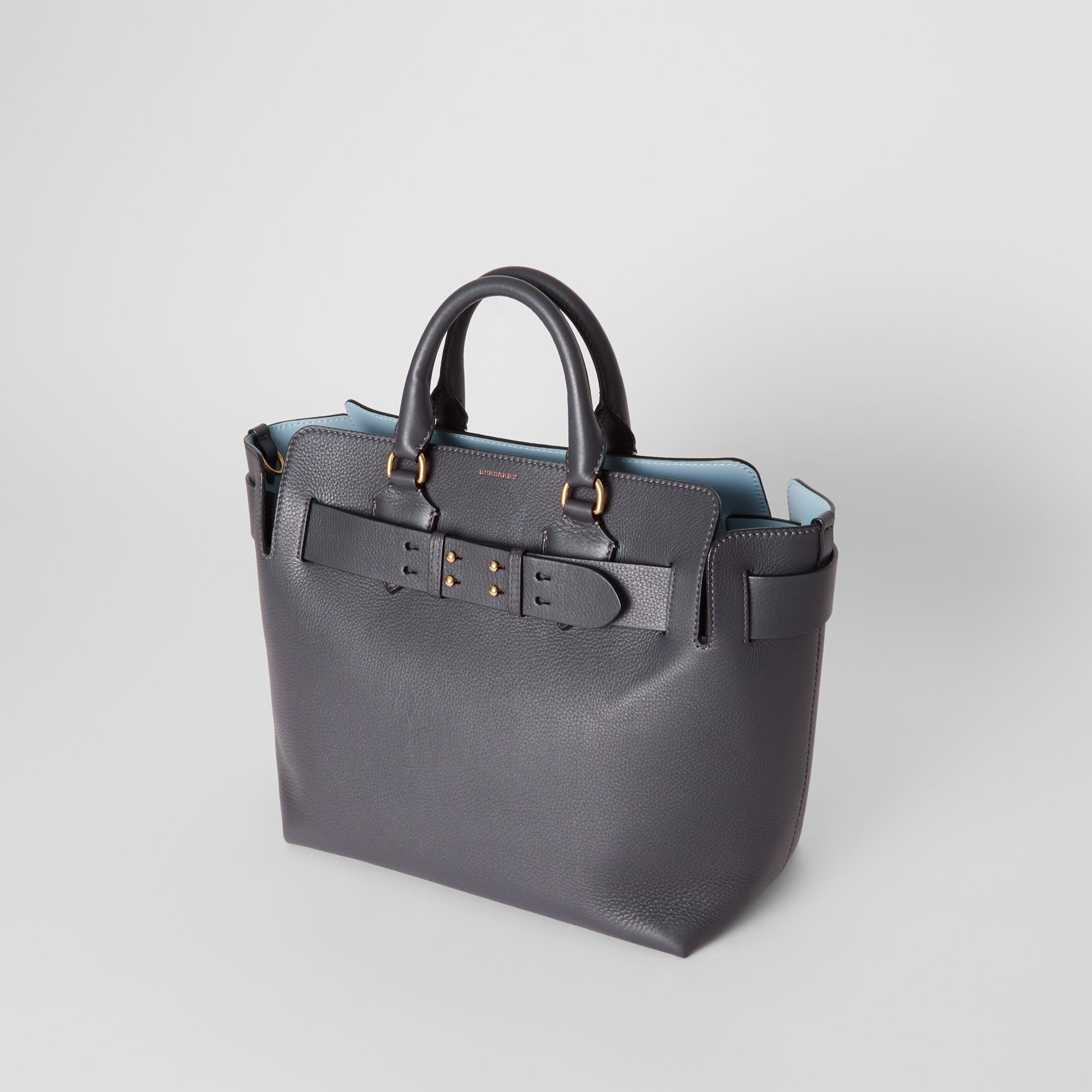 Sac The Belt moyen en cuir (Gris Anthracite) - Femme | Burberry - photo de la galerie 4
