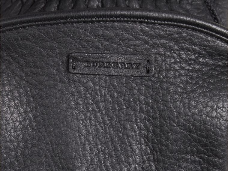 Fur Lined Deerskin Gloves - Men | Burberry - cell image 1