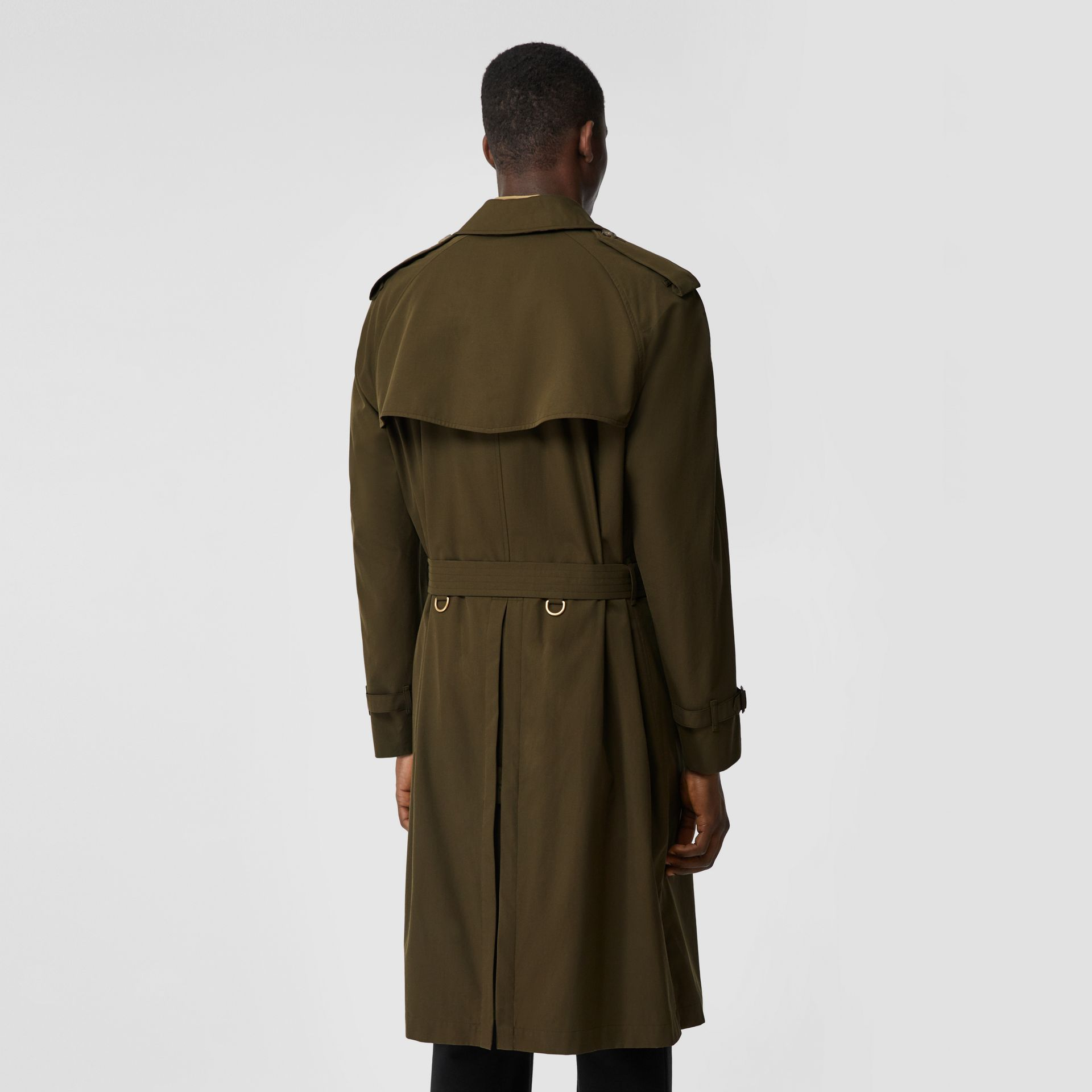 The Westminster Heritage Trench Coat in Dark Military Khaki - Men | Burberry Singapore - gallery image 1