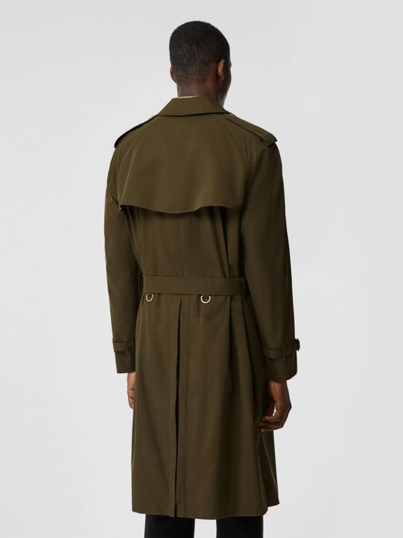 The Westminster Heritage Trench Coat in Dark Military Khaki - Men | Burberry Singapore - cell image 1