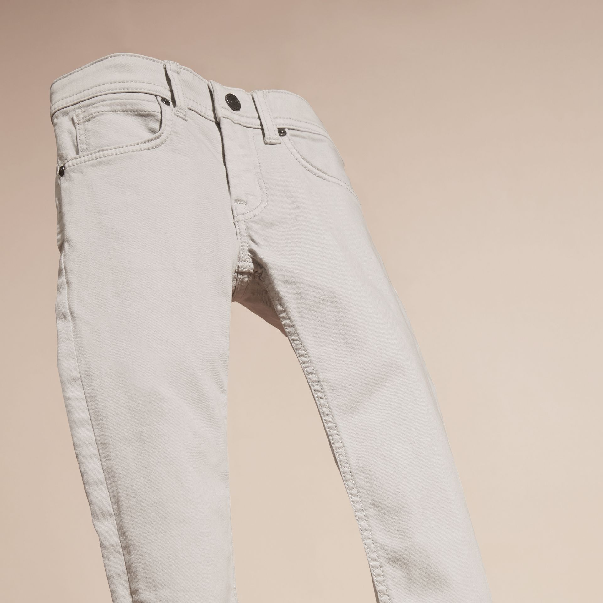 Light grey Skinny Fit Jeans Light Grey - gallery image 3