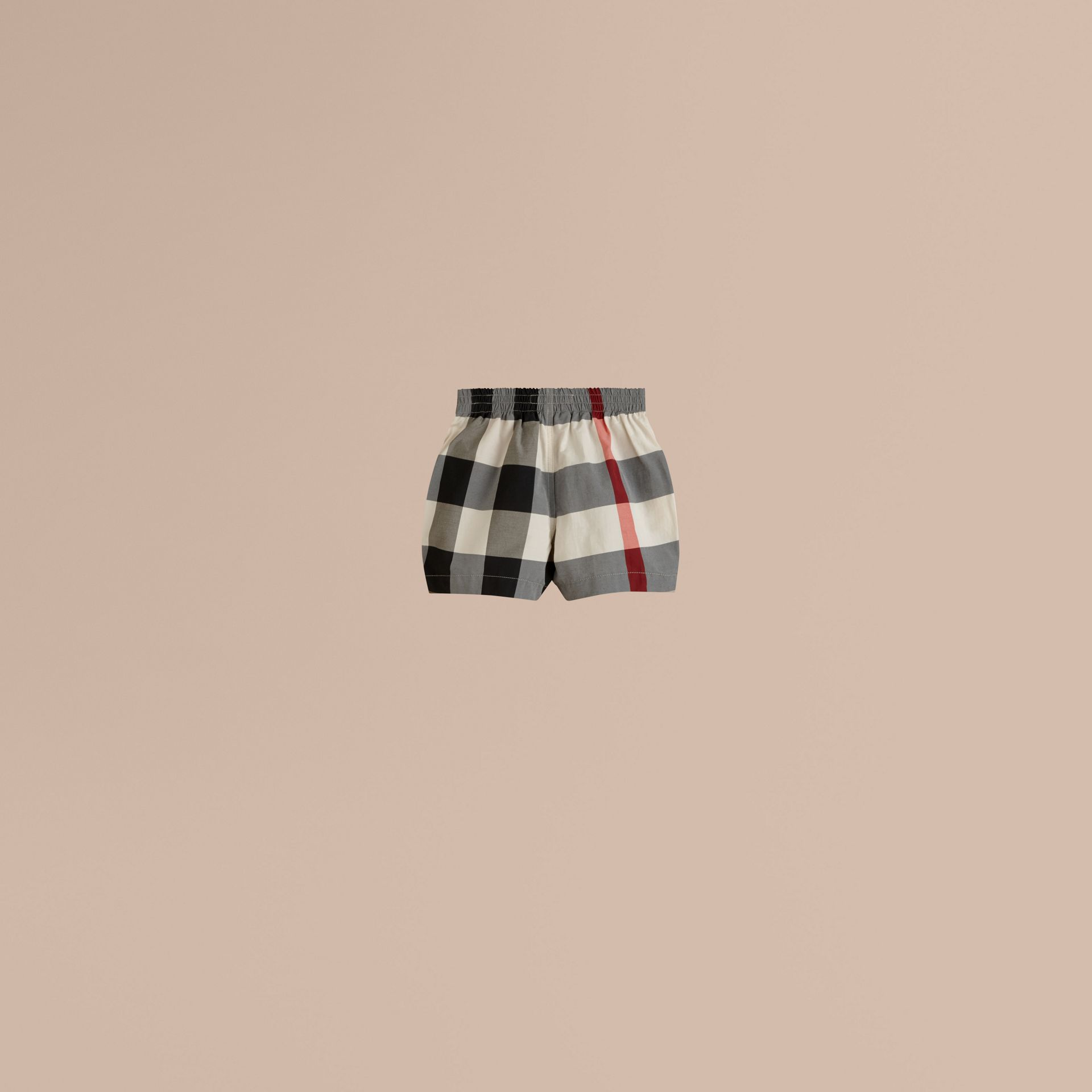 Nouveau check classique Short de bain à motif check - photo de la galerie 3